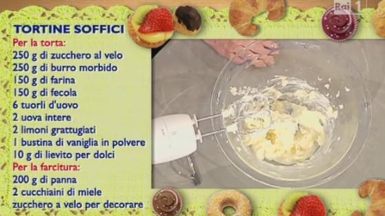 La Ricetta Delle Tortine Soffici Di Anna Moroni Il Dolce Da La Prova Del Cuoco Ricette Dolci Cibo