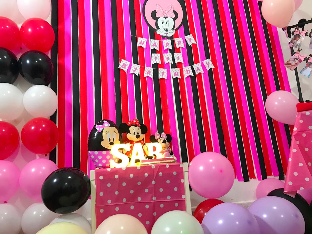 Minnie Mouse Party Decorations Diy Minnie Mouse Party Decorations Minnie Mouse Party Decorations Diy Diy Party Decorations
