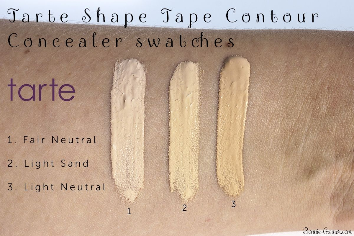 Tarte Shape Tape Contour Concealer Fair Neutral Light