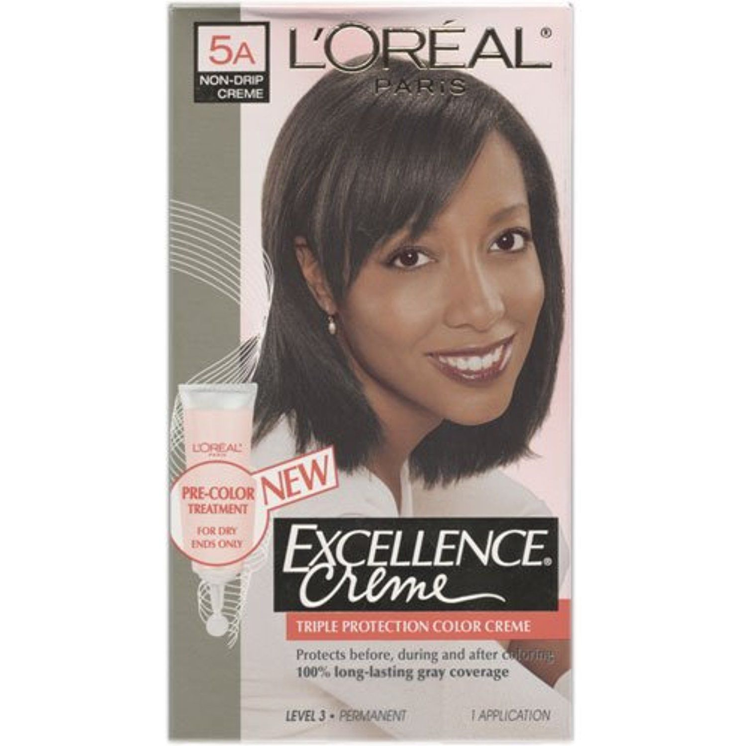 Loreal Excellence Triple Protection Hair Color Creme 5a Soft Ash