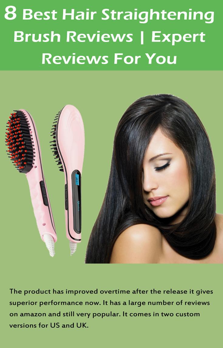 Best Hair Straightening Brush Reviews  Straightener Blow dry and