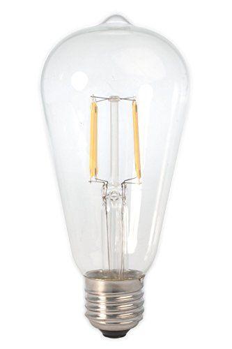 Dc 12 Volt Warm White 2700k 6 Watt Led Filament St64 Light Bulb