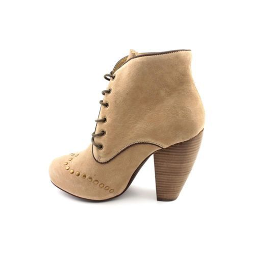 262b8bfaa39 Fly London Niso Womens Size 6 5 Brown Leather Fashion Ankle Boots UK ...