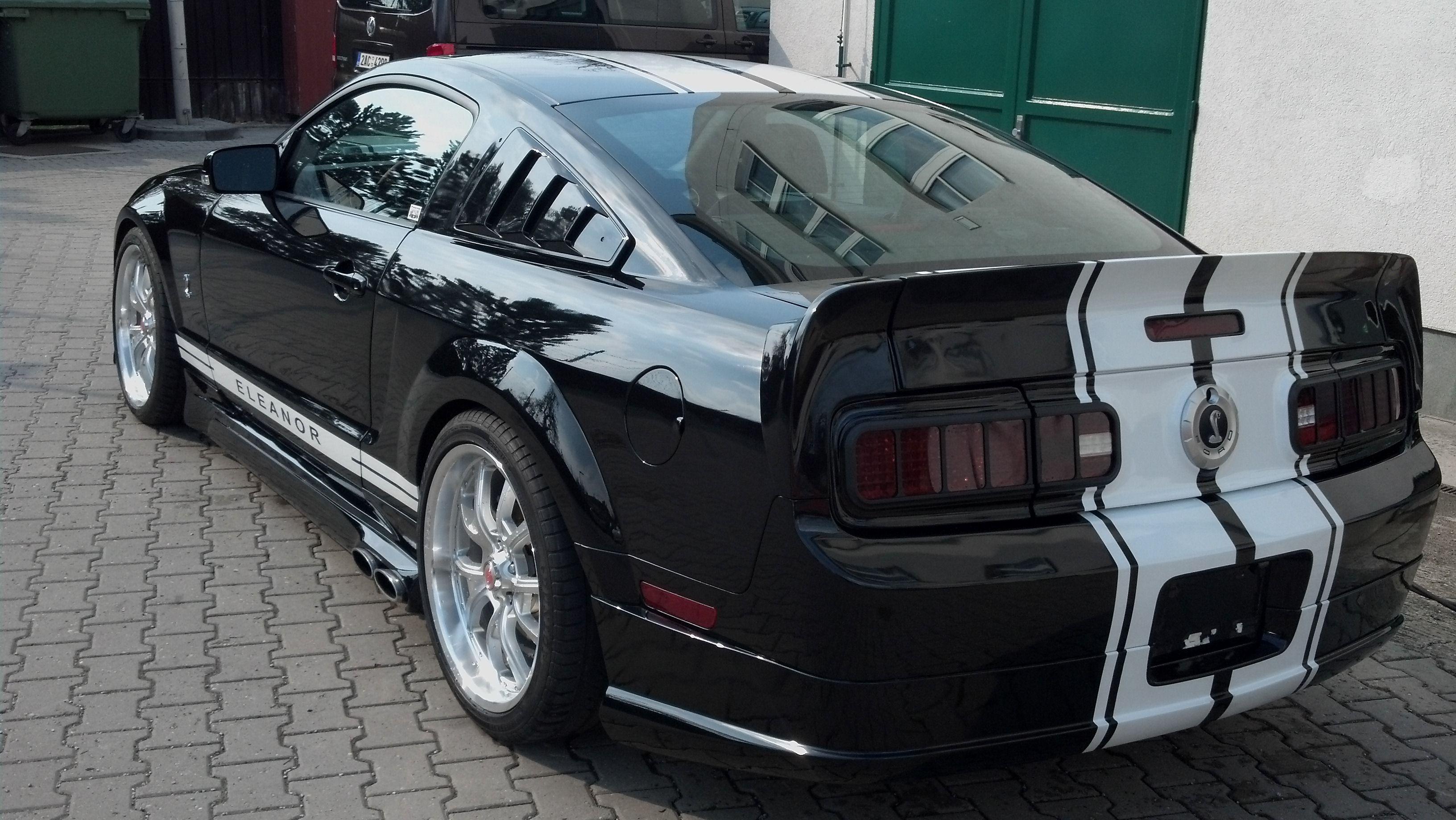Mustang tail light