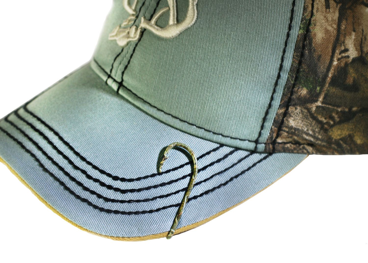 3734feb4aba685 ... online store. Camo Fish Hook Hat Pin - Hat Clip for Hat or Cap - Money  Clip/Tie Clasp - Camouflage by BTOutdoors on Etsy