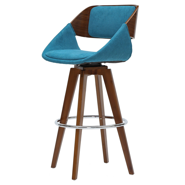 Astounding Npd New Pacific Direct Cyprus Kd Fabric Wood Bar Stool In Evergreenethics Interior Chair Design Evergreenethicsorg