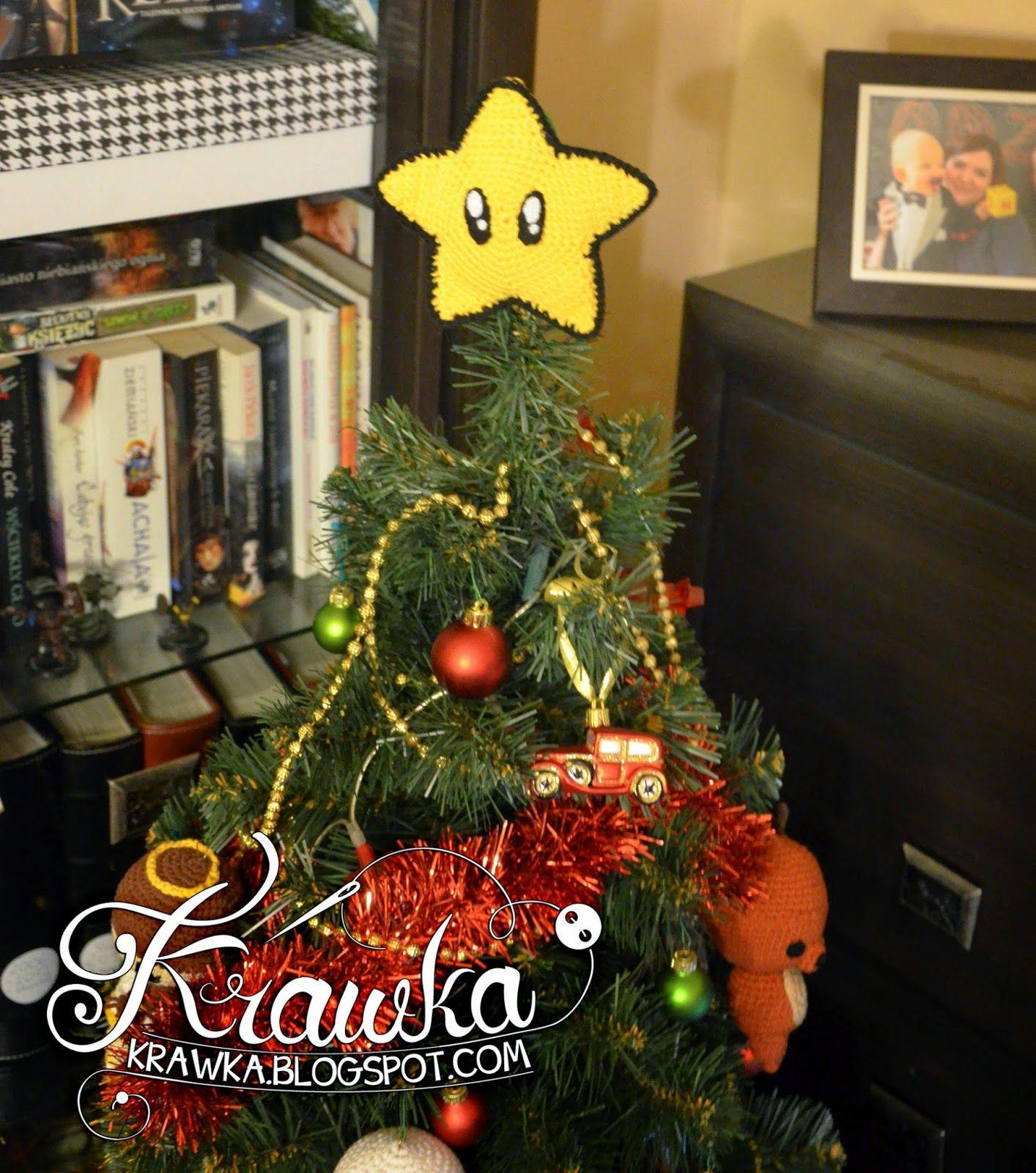 Krawka Crochet Christmas Tree Ornaments Snowman, Reindeer, Angels, Santa And
