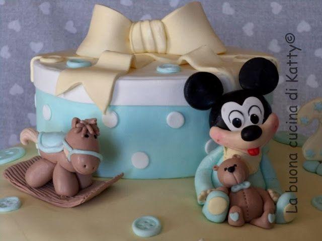 La buona cucina di Katty: Torta Topolino Baby - Cake baby mouse