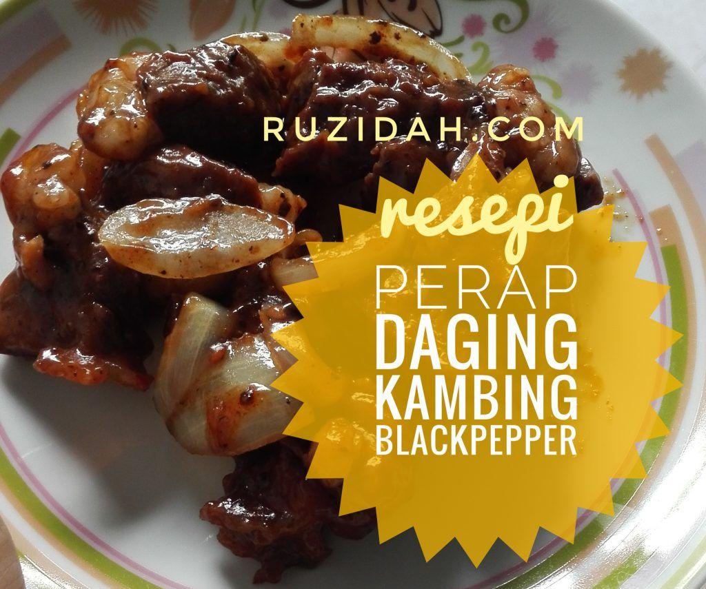 Perapan Daging Kambing Bakar Blackpepper Guna Pemanggang Ajaib Stuffed Peppers Food Black Pepper