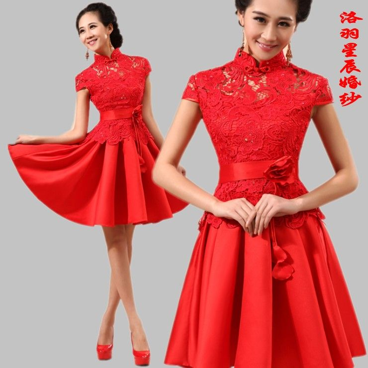 Dress Patterns Formal Occasions Marry Red Short Design Formal