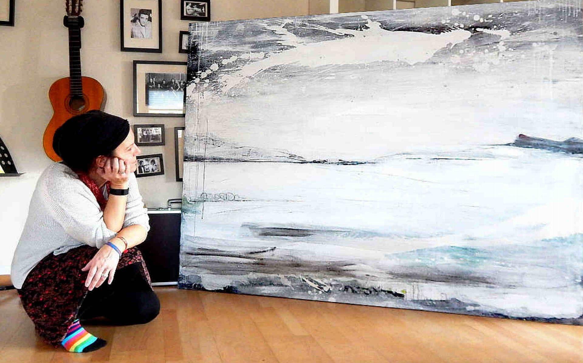 abstrakte bilder kaufen große Formate als Auftragsmalerei oder im Shop weisse Gemälde