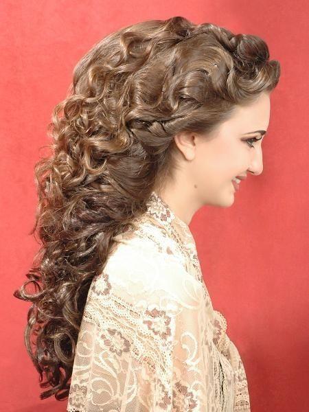 Hochzeit Haar Modelle Arabische Frisuren Haar Styling Frisur Hochgesteckt