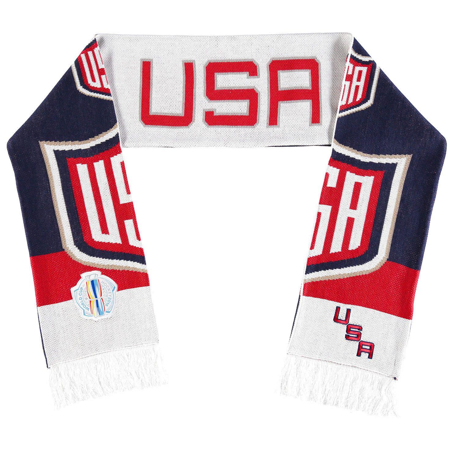 US Hockey Mitchell & Ness World Cup of Hockey 2016 Scarf - $27.99