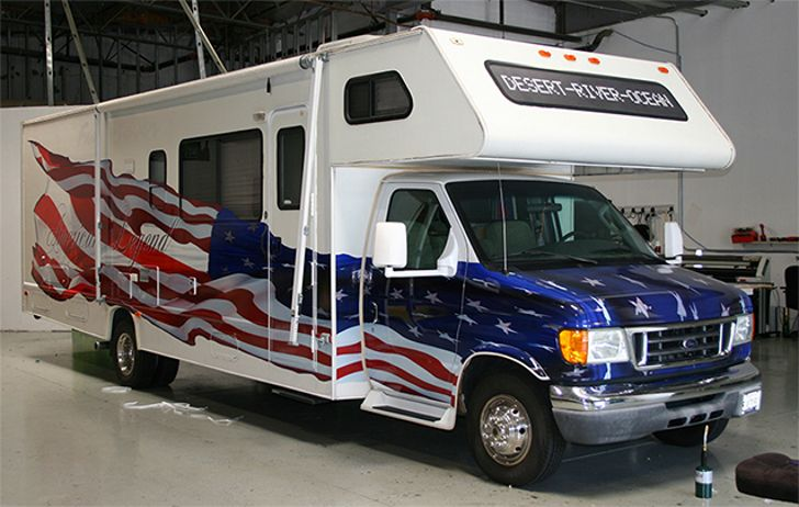 Star Spangled Patriotic RV Designs Showcase Independence and