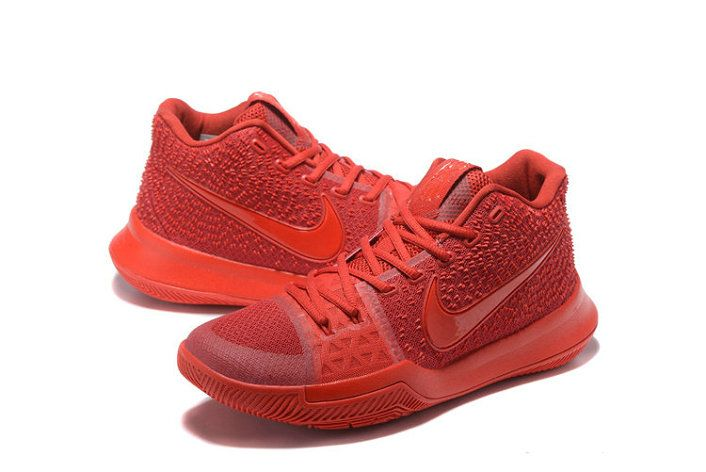 How To Buy 2018 Kyrie Irving 3 III Third All Red Red October