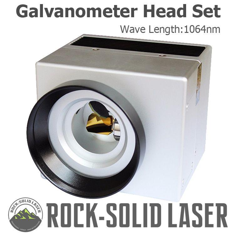 Fiber Laser Galvo Scan Head Galvanometer Scanner 10600nm