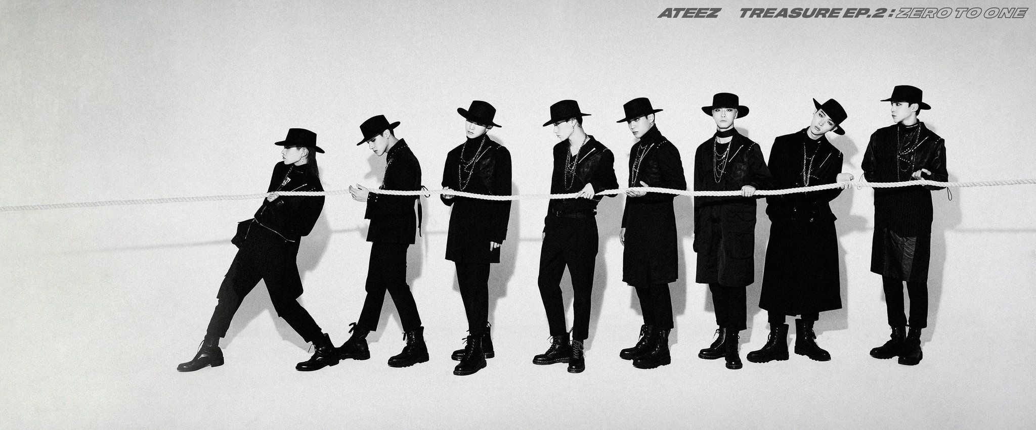 ATEEZ TREASURE EP.2 Zero To One 'ATEEZ VS ATEEZ' ALBUM