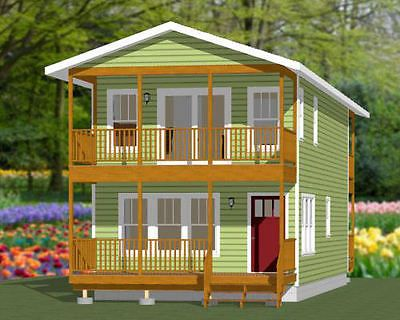 2 Story House Plan 8x11m With 3 Bedrooms Samphoas Plansearch Wooden House Plans House Plans Bungalow House Plans