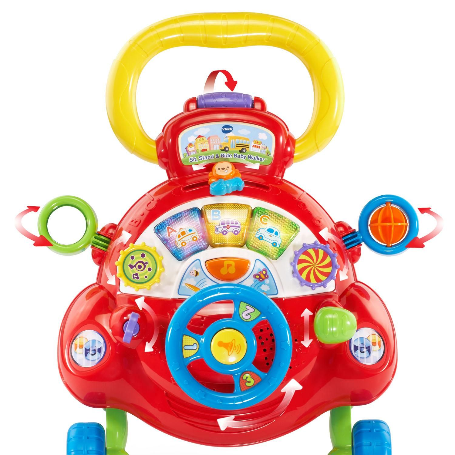 Amazon VTech Sit Stand and Ride Baby Walker Toys & Games