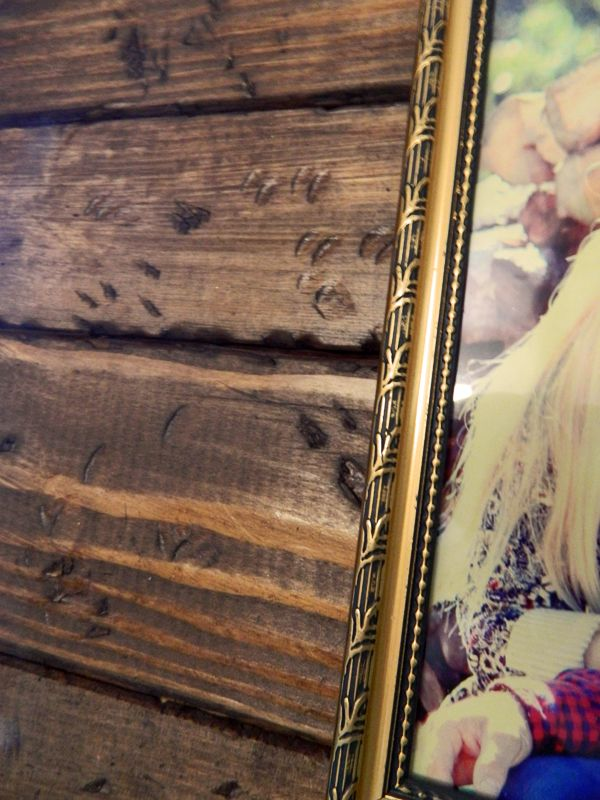 diy vintage distressed wood picture frame | Crafts and DIY ...