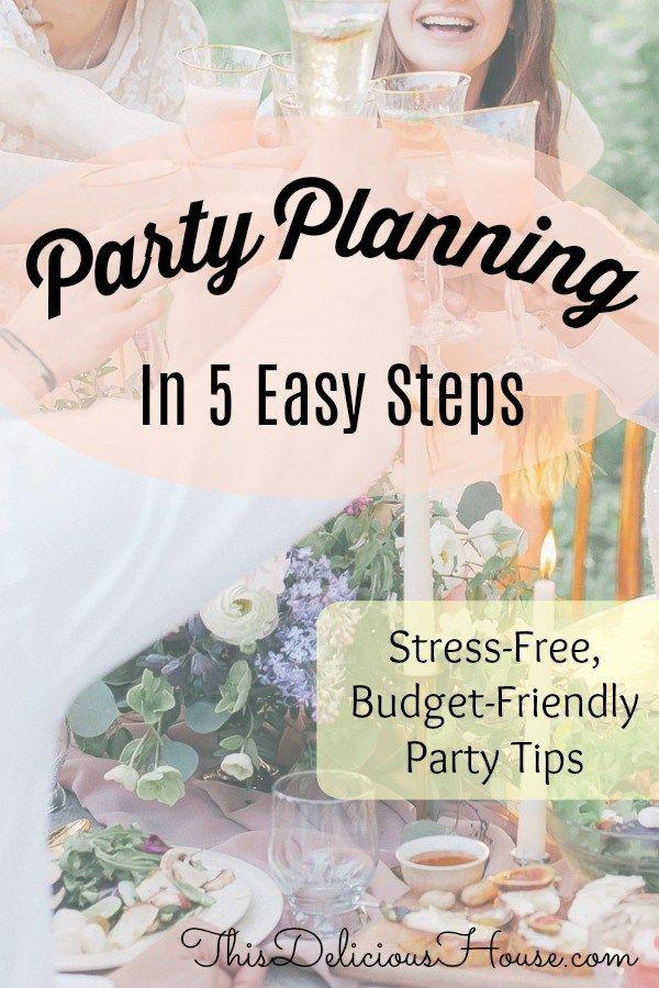 Photo of Party Planungshandbuch in 5 einfachen Schritten! – Dieses köstliche Haus