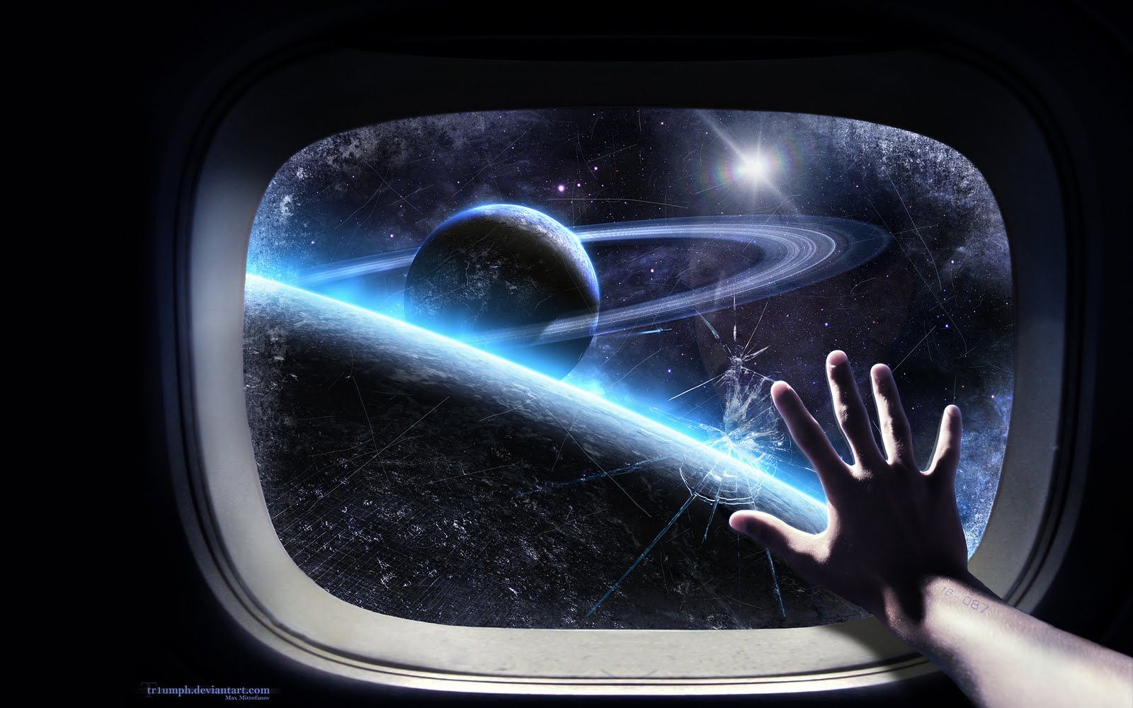 Wallpaper Hd Hublot Espace Science Fiction Free