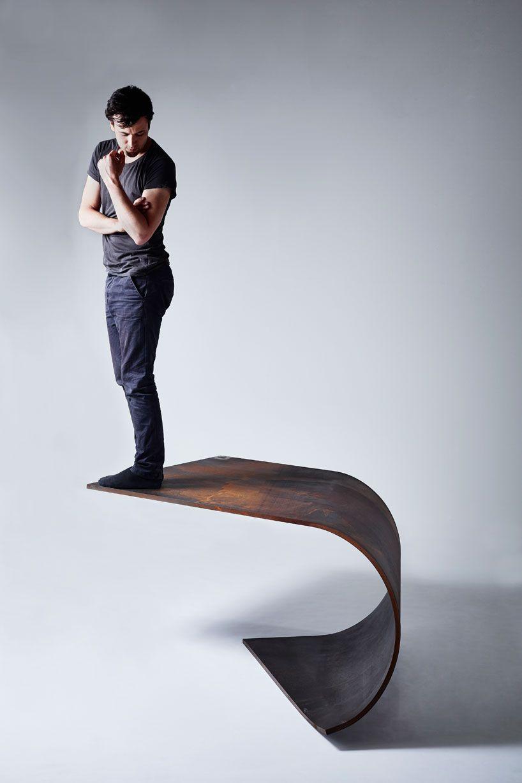 Bent Steel Table