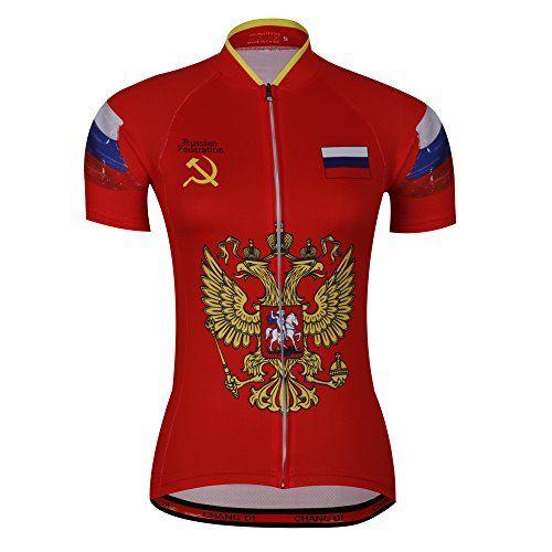 f4eb3b026 Womens Flag cycling Jerseys riding bike clothing MTB road bicycle wear short  sleeve ropa Short Sleeve