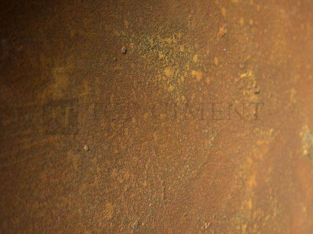 Efecto acero corten con xido de hierro pintar muebles - Pintura con efectos ...