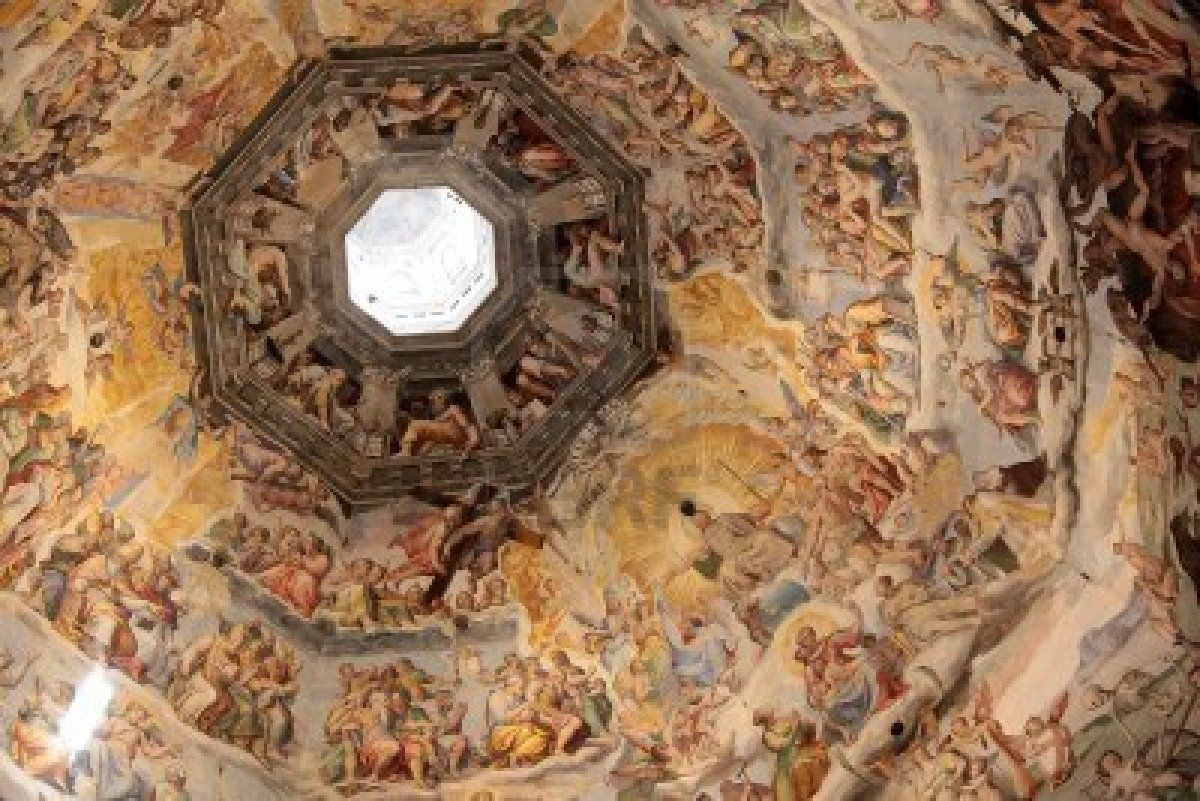 Dome Of The Cathedral Santa Maria Del Fiore In Florence Florence Giorgio Vasari Cathedral