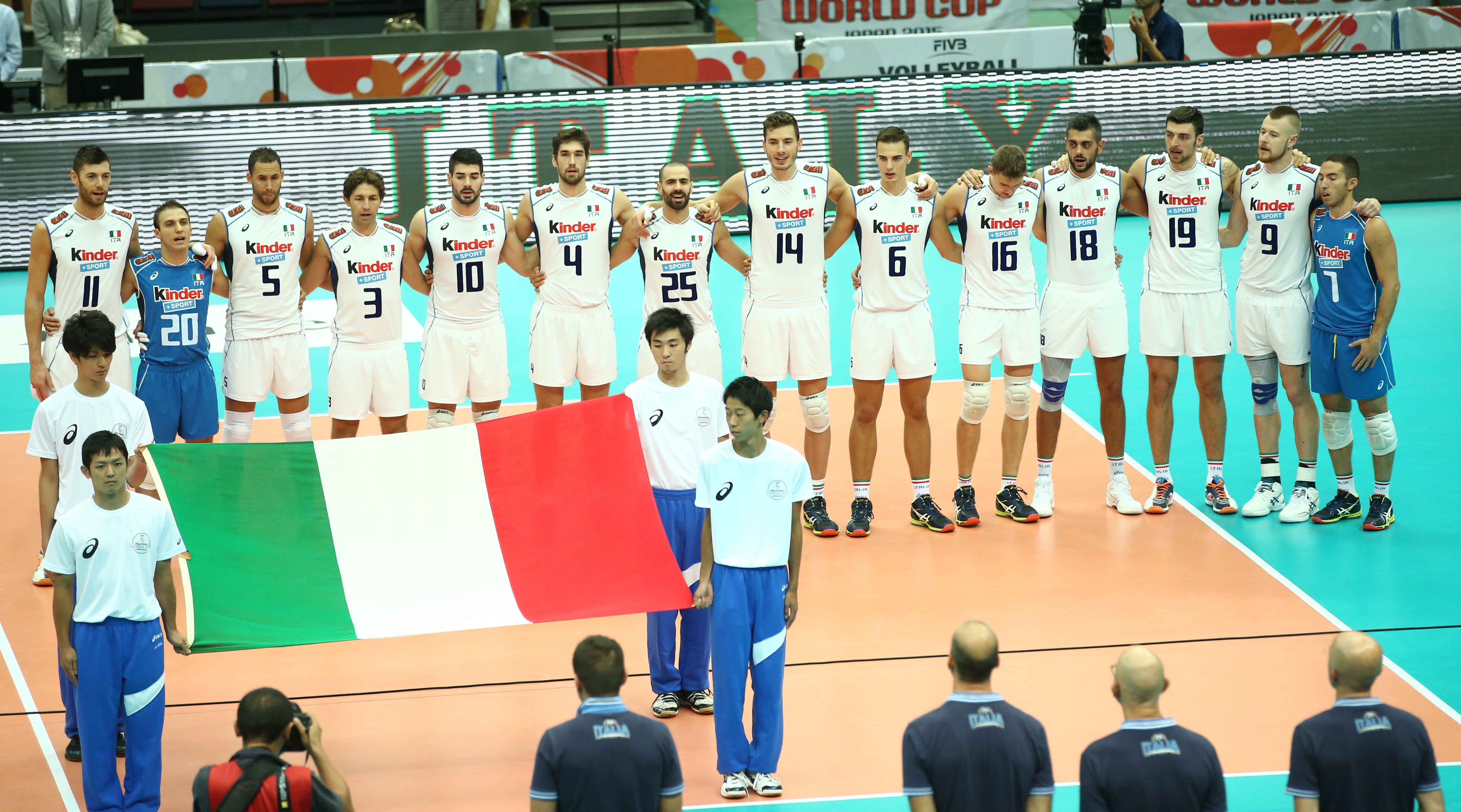 The National Anthem Of Italy Before The Match Against Iran Mens World Cup World Cup