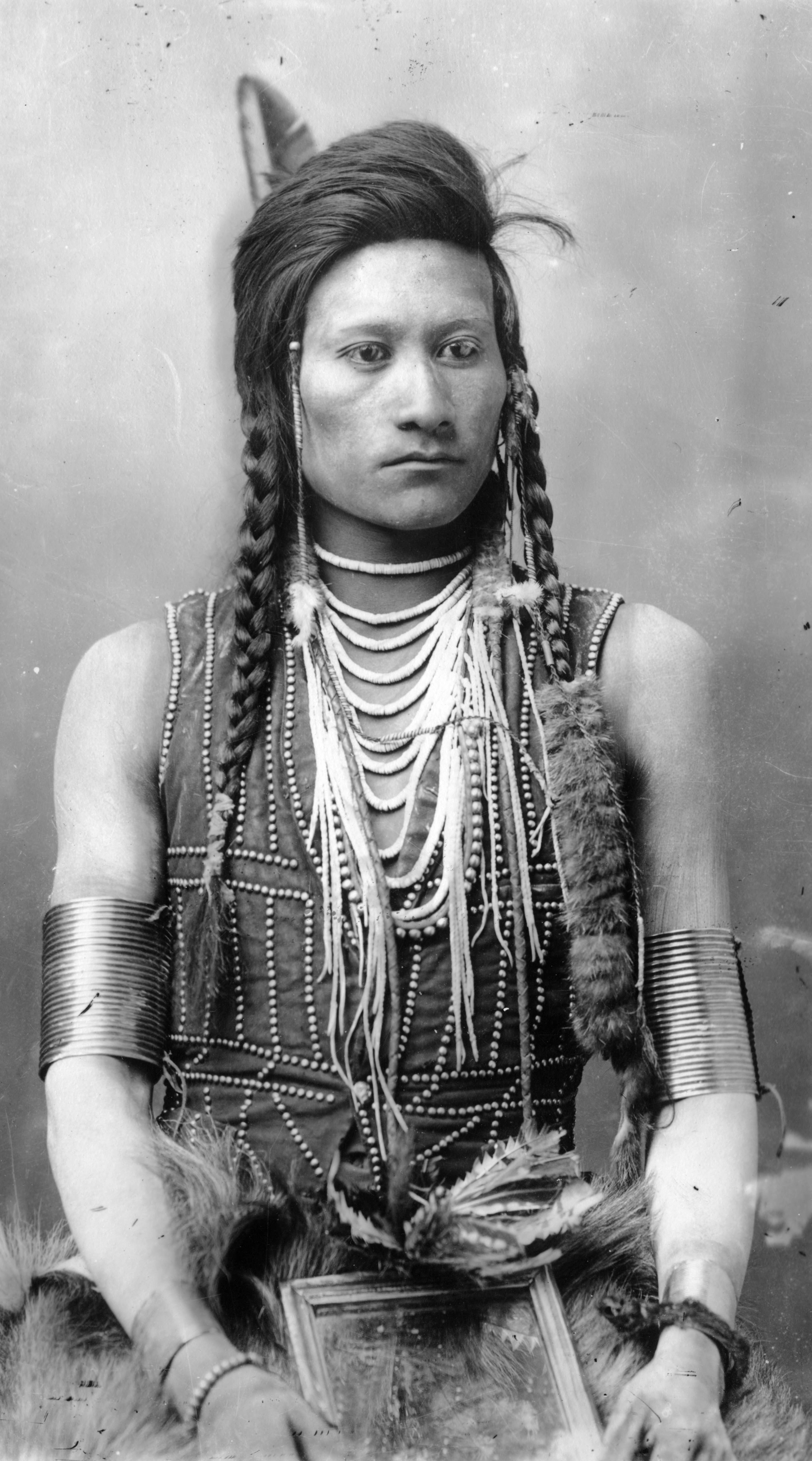 Codsiogo a Native American Shoshone man