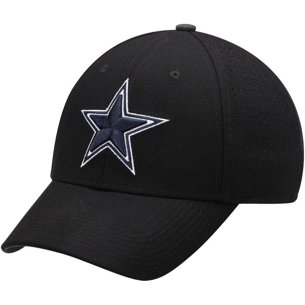 3556ab50474 Mens Dallas Cowboys Nike Black Flex Dri-FIT Hat