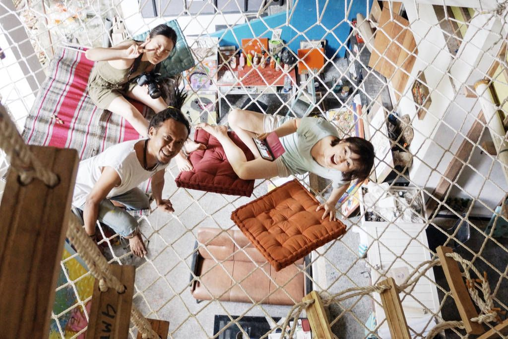 A Home in An Art Space : Twin Room - Casas para Alugar em Ubud