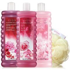 Avon Bubble Delight Spring Essentials Collection