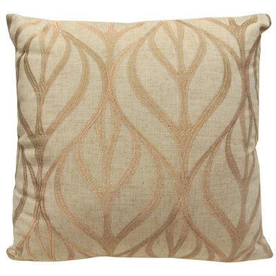 Found it at Wayfair - Leaf Sequenced Decorative Throw Pillow