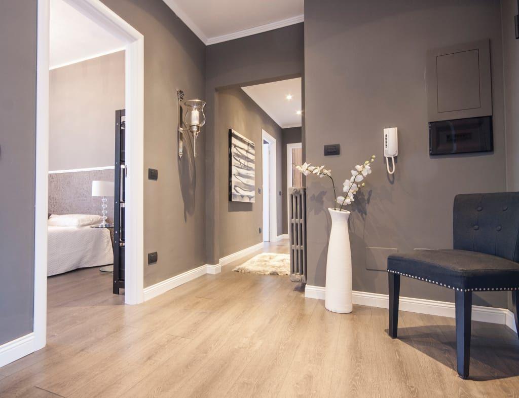 Ristrutturazione appartamento milano ingresso, corridoio