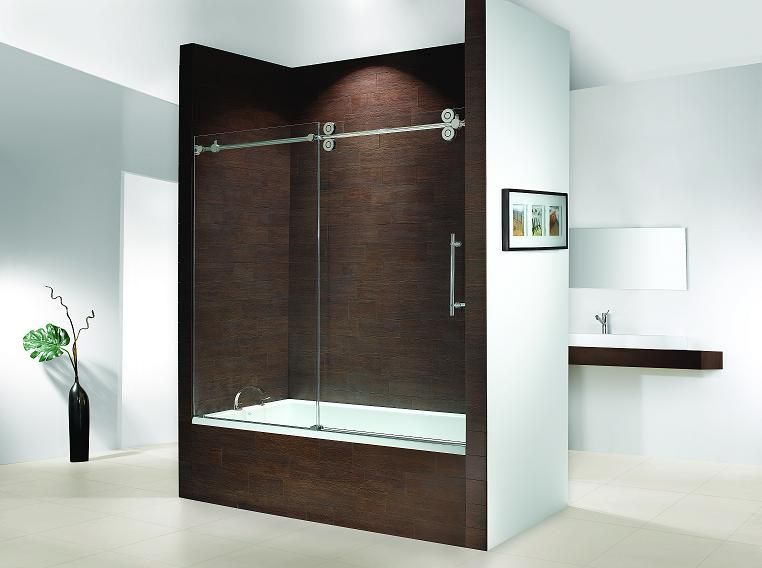 Idea for our bath door-Fleurco KTW060 Kinetik Hardware Systems ...