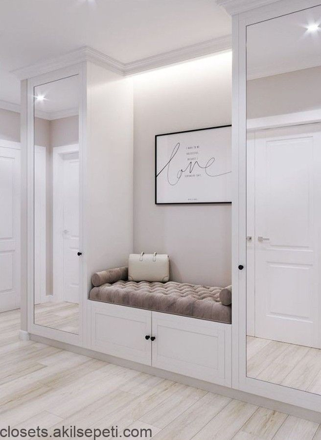 Window On Which The Picture Hangs And Make It A Daybed Home Interior Design Closet Designs Home