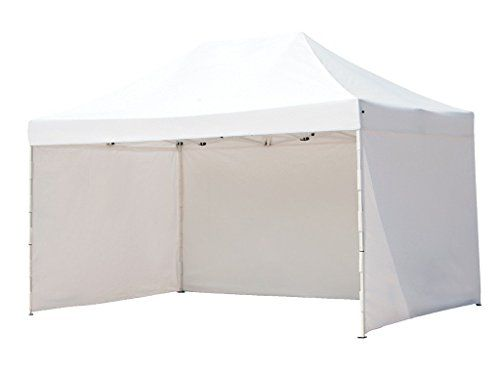 Abba Patio 10 X 15 Ft Pop Up Heavy Duty Instant Canopy Commercial Portable Canopy With Sidewalls Enclosure White Portable Canopy Instant Canopy Canopy