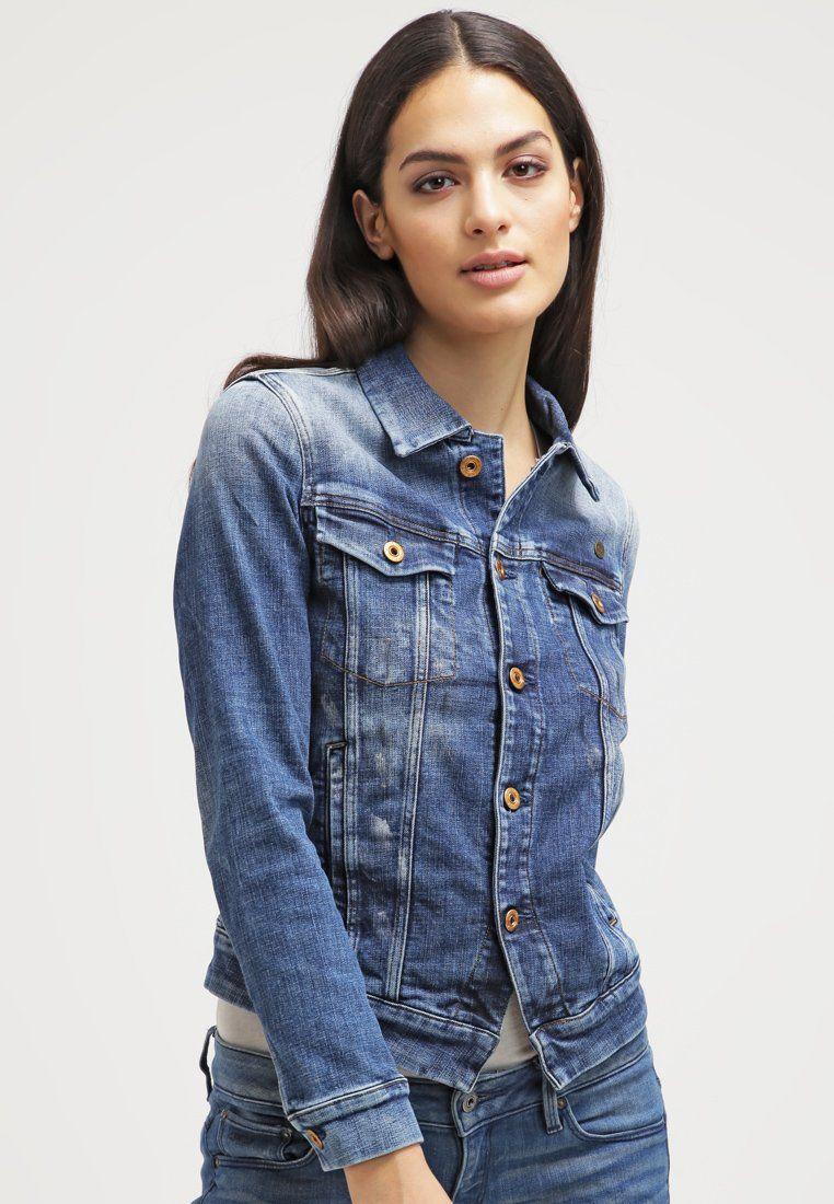 g star 3301 jkt veste en jean aiden stretch denim prix promo veste en jean femme zalando. Black Bedroom Furniture Sets. Home Design Ideas