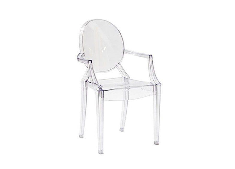 Cadeira Ghost Com Braços - Inusual - Smart Decor