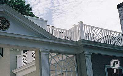 Chippendale Railings Vinyl Railing Deck Railings Fence