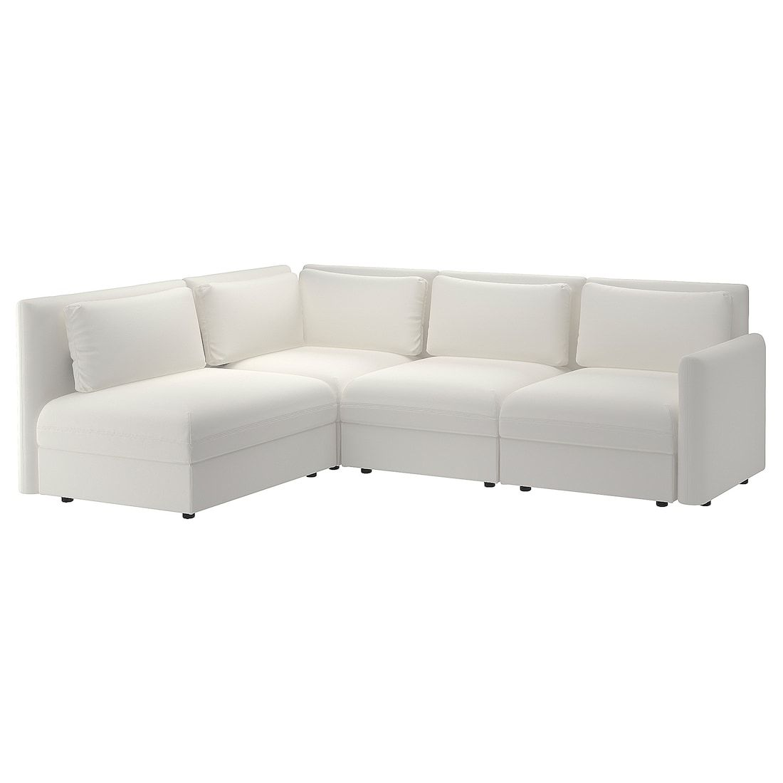 Vallentuna Modular Corner Sofa 3 Seat With Storage Murum White Modular Corner Sofa Corner Sofa Modular Sectional Sofa