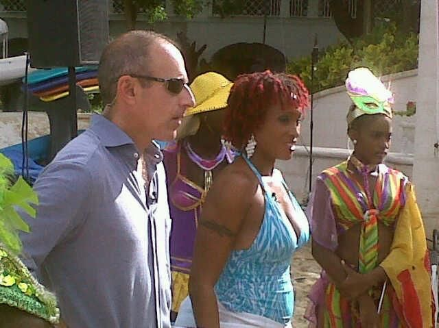 On The Today Show with Matt Lauer, Barbados