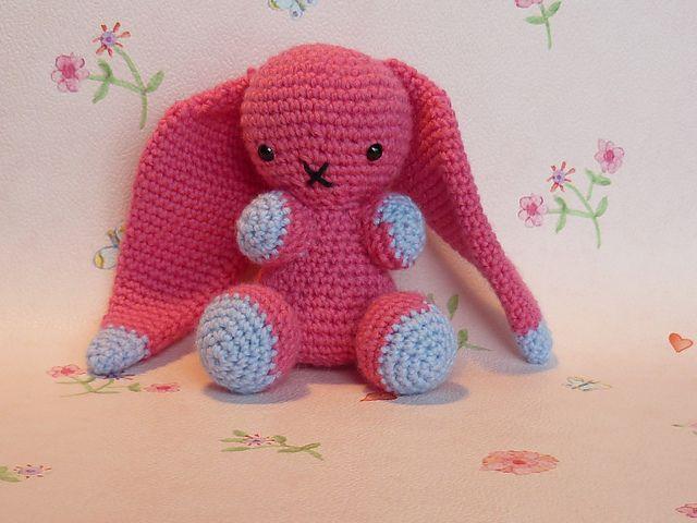 Free Amigurumi Downloads : Floppy bunny free amigurumi crochet pattern pdf format click