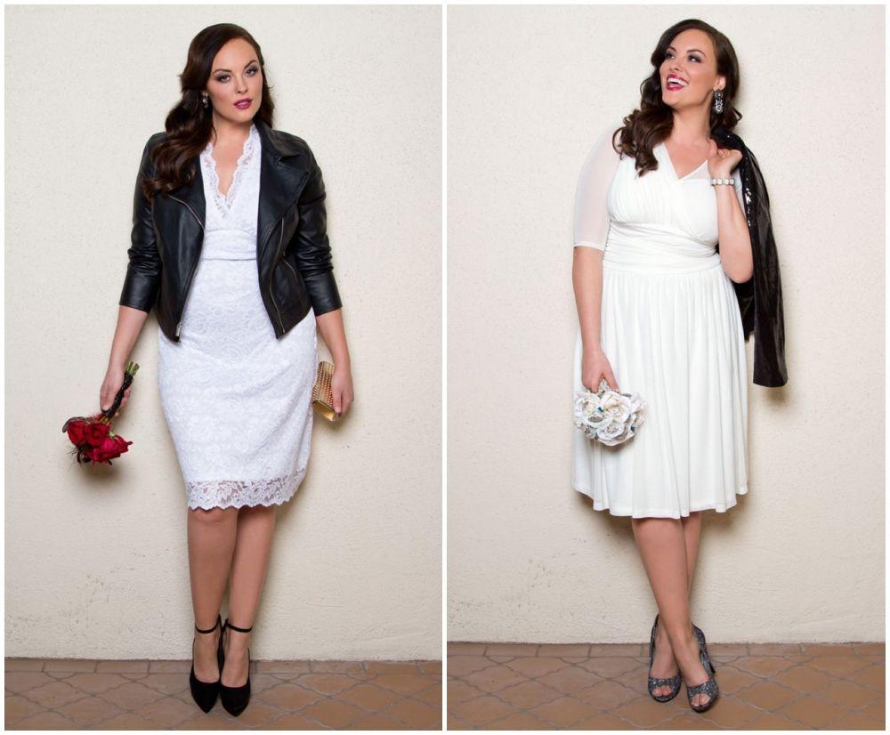 Courthouse wedding dresses under $100  Stylish Wedding Dresses for Curvy Brides  vestido de noiva