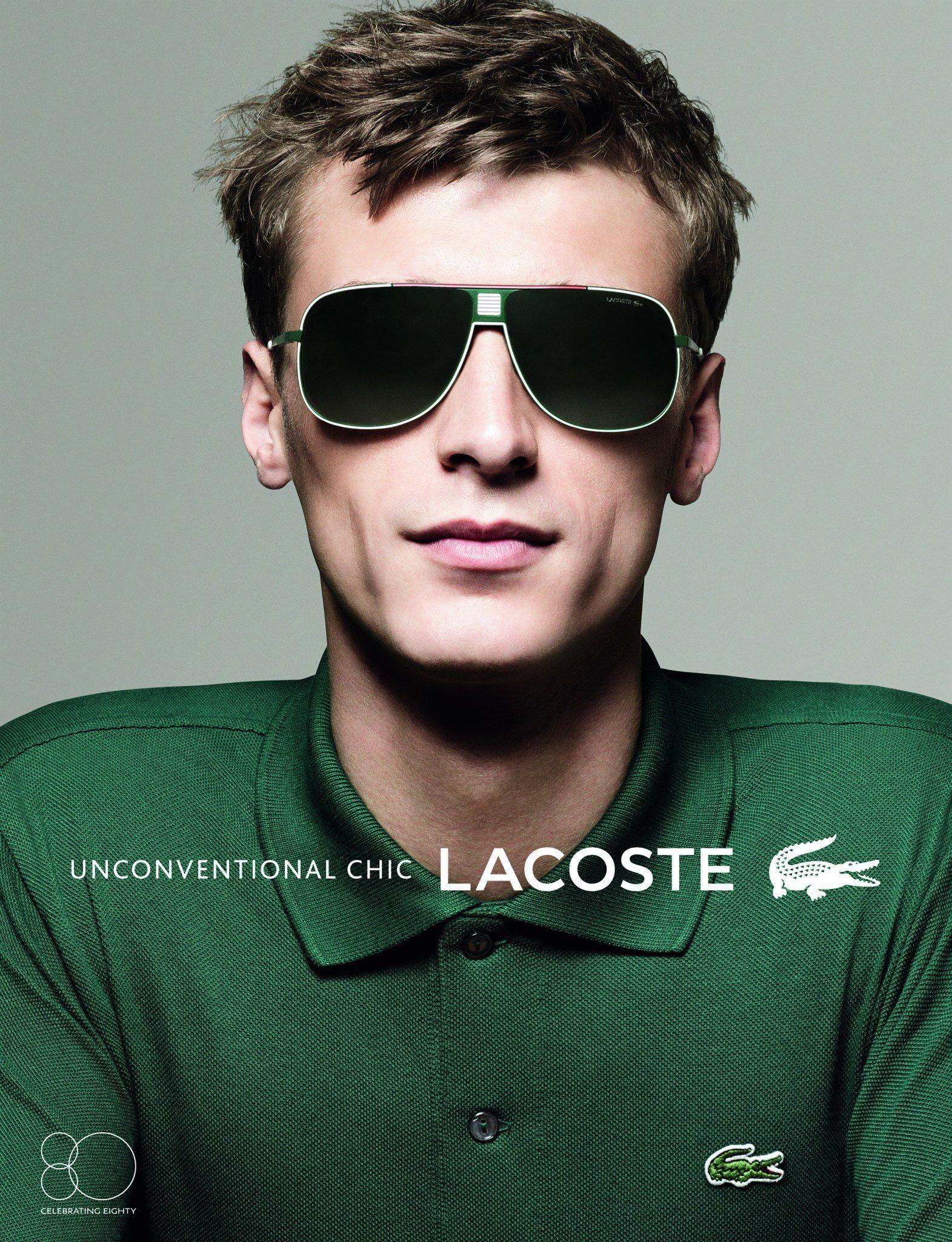 c9919d5e015 Clément Chabernaud Stars in Lacoste Eyewear Spring Summer 2013 Campaign by  David Sims  MensFashionNIghtOut