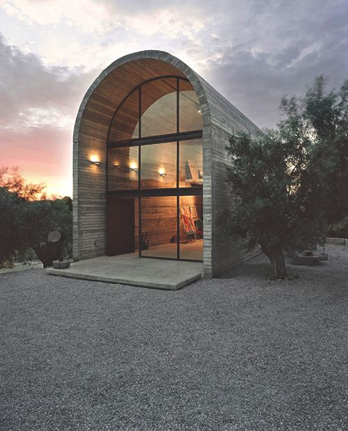 Art Studio Warehouse Is Designed And Built By Architecture Design In Boeotia Greece The Of Painter