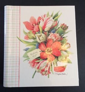 Hallmark marjolein bastin greeting card organizer address book hallmark marjolein bastin greeting card organizer address book nature sketchbook ebay m4hsunfo Images